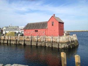 Motif #1, the most famous landmark in Rockport